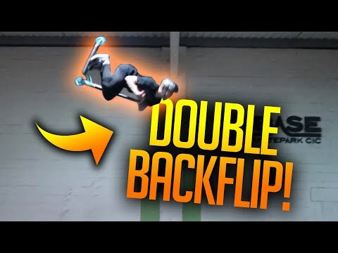 ❌MY BIGGEST FEAR❌ Double Backflips! FT JORDAN CLARK AND CHARLIE HASTINGS.