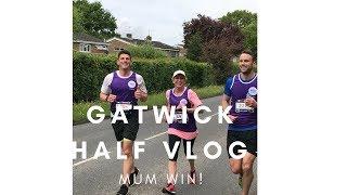 Running Gatwick with my Mum and Bro!