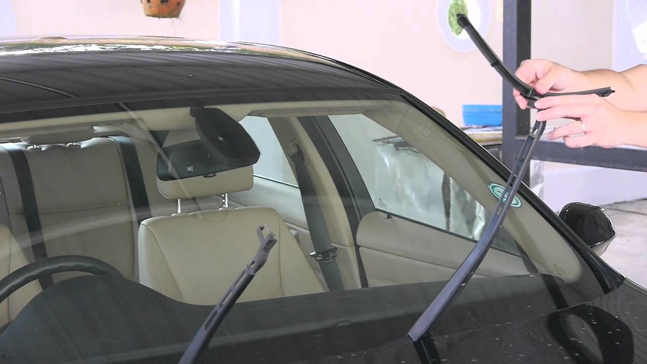 Bmw E90 3 Series Install Replace Windshield Wipers Youtube