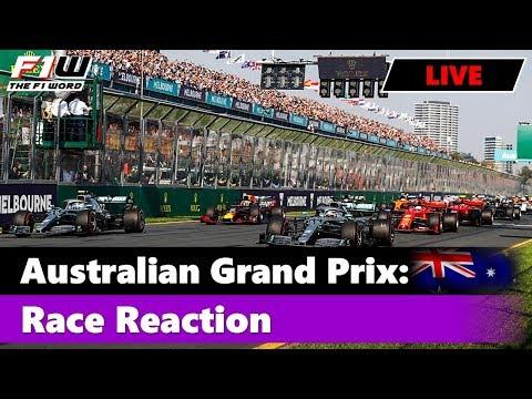 Australian Grand Prix: Race Reaction