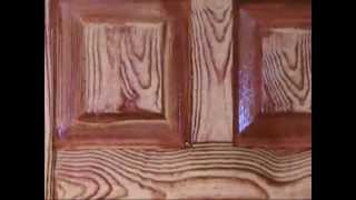 "BRUSH MAGIC PAINTING-1 video http://www.brushmagic.net ""How to do wood graning"