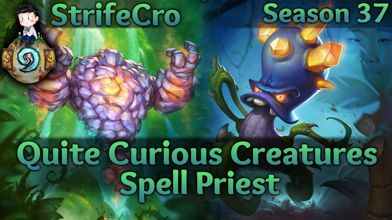 worksheet How To Spell Quite hearthstone spell priest quite curious creatures youtube creatures