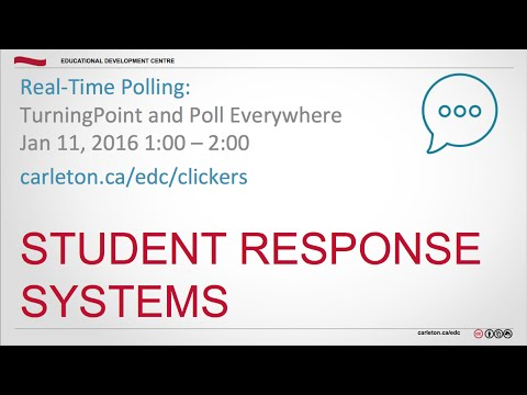Student Response Systems and Real-Time Testing: TurningPoint