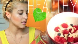 My Healthy Snacks & Eating Tips {Recipes}