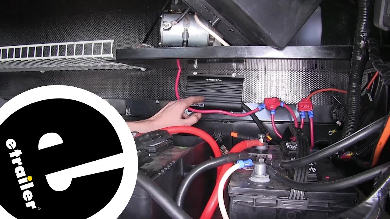 redarc in vehicle dc to dc battery charger installation etrailer com [ 1280 x 720 Pixel ]
