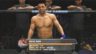 UFC Undisputed 3: Jon Bones Jones Career Mode Gameplay Xbox 360/PS3