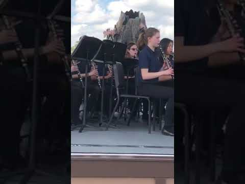 Clarendon Hills Middle School Disney Band 2019