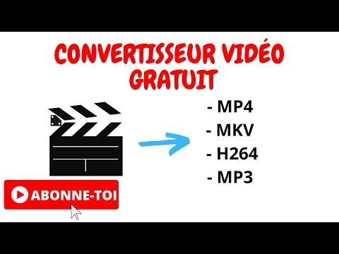 Convertisseur vidéo gratuit superbe logiciel