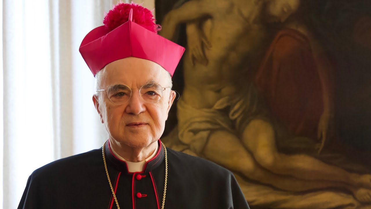 Archbishop Viganò Addresses the Catholic Identity Conference 2020 (Francis & the New World Orde