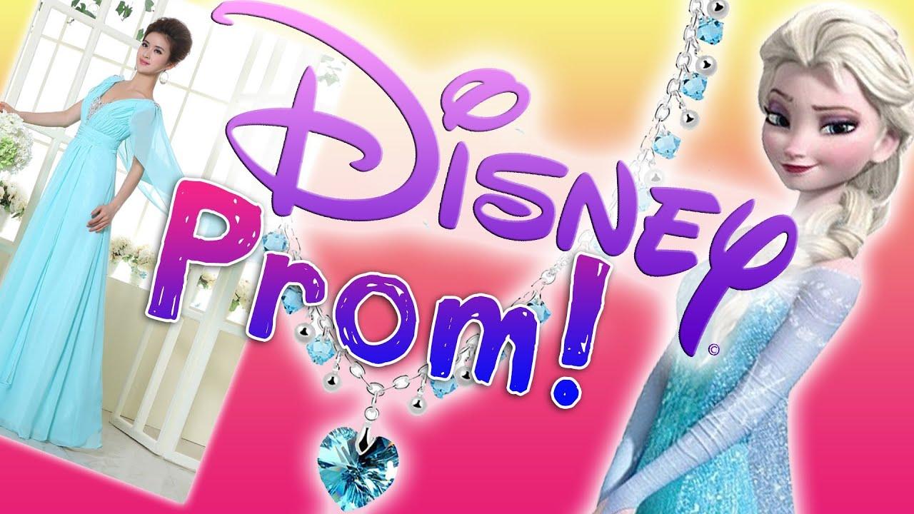 disney princess prom dresses prom lookbook youtube