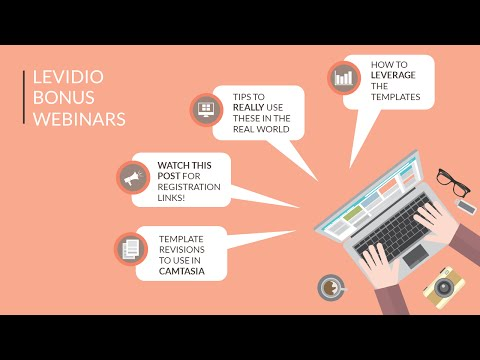 Levidio PowerPoint Video Templates Bonus Webinar 1