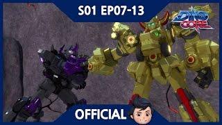 [Official] DinoCore   Series   Dinosaur Robot Animation   Season 1 EP07~13