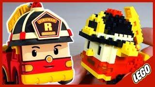 Лего. Робокар Рой. LEGO. Cartoon Robocar. 로보카 폴리
