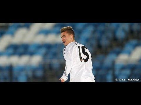El golazo de Febas ante el Nápoles en la UEFA Youth League