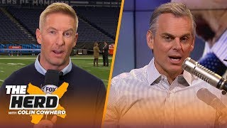 Joel Klatt previews Ohio St. - Wisconsin Big 10 Championship matchup | CFB | THE HERD