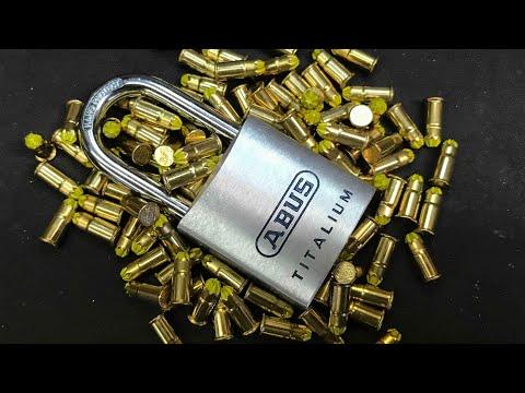 Вытягивание цилиндра ABUS 80TI/40  [535] Glocksport: Abus 80TI/40 vs.
