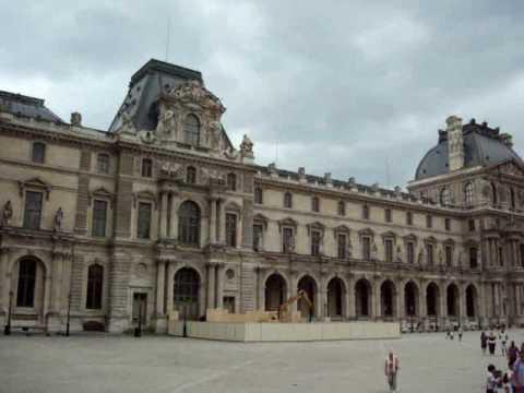 Louvre Museum (Musée du Louvre), Louvre palace (Palais du Louvre), Louvre Pyramid