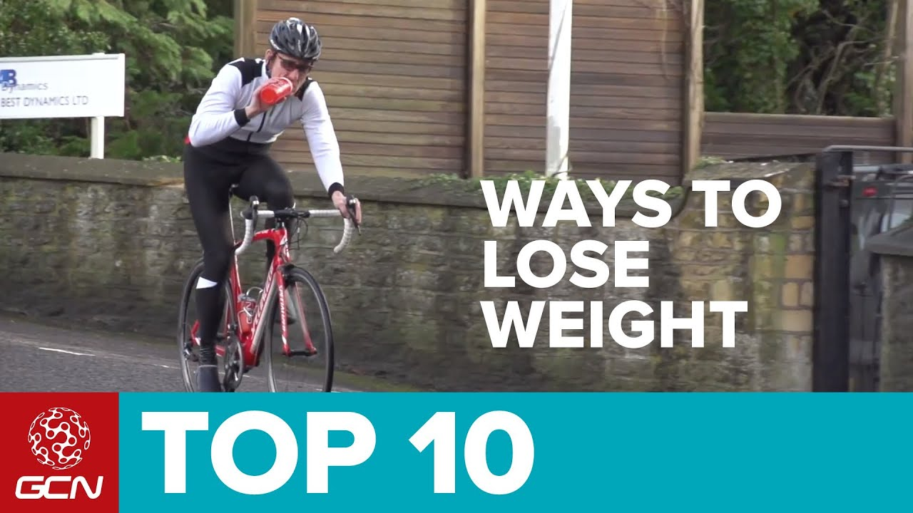 GCN's Top Ten Ways To Lose Weight Through Cycling - YouTube