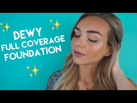 Dewy full Coverage Foundation Tutorial