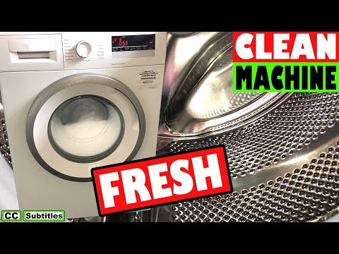 How to Clean a Washing Machine to keep it Hygienically Fresh from YouTube · Duration:  4 minutes 54 seconds