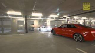 Semi-Automatic Car Parking System WÖHR Combilift 542