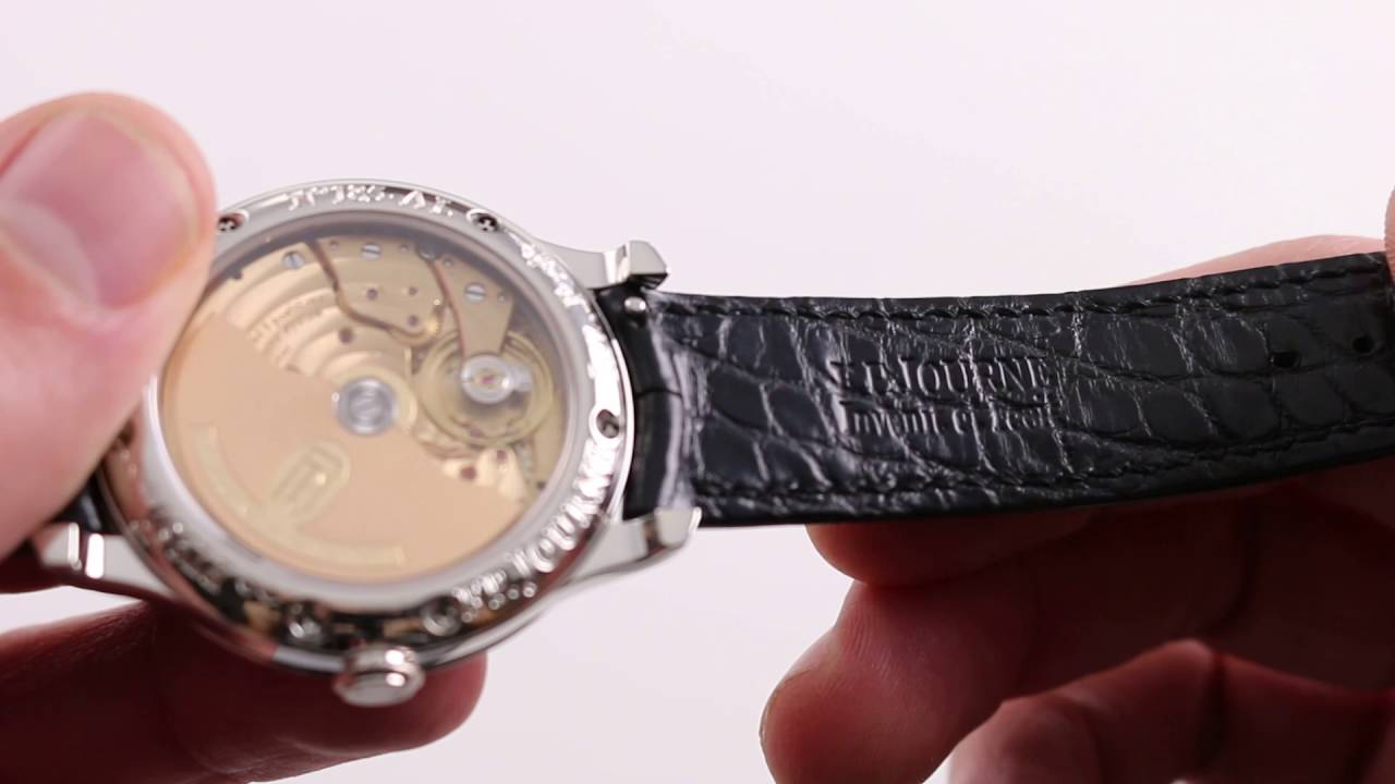 3bd58a284aa Preowned F.P. Journe Octa Lune Nacre Boutique Edition Luxury Watch Review