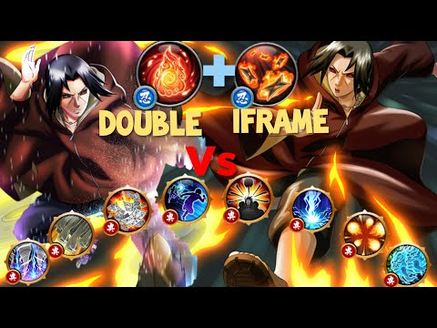 NxB NV Itachi Edo Double Iframe Vs Top 10 Longest Ultimates ¶ Naruto X Boruto Ninja Voltage ¶