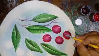 Pintando Cerezas con Alfre Severo.