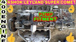 Timming Set & Pump Fitment For Ashok Leyland Super Comet 400 Engine, By Mechanic Gyan,