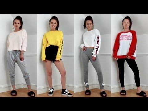 a681ac17c3 CUTE   COMFY LAZY DAY OUTFITS   CHILL AF! - YouTube
