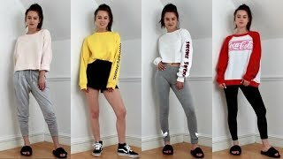 CUTE & COMFY LAZY DAY OUTFITS / CHILL AF!