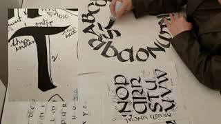 Out of the Box: Art Activities for Kids | calligraphy with Lyn Graybeal
