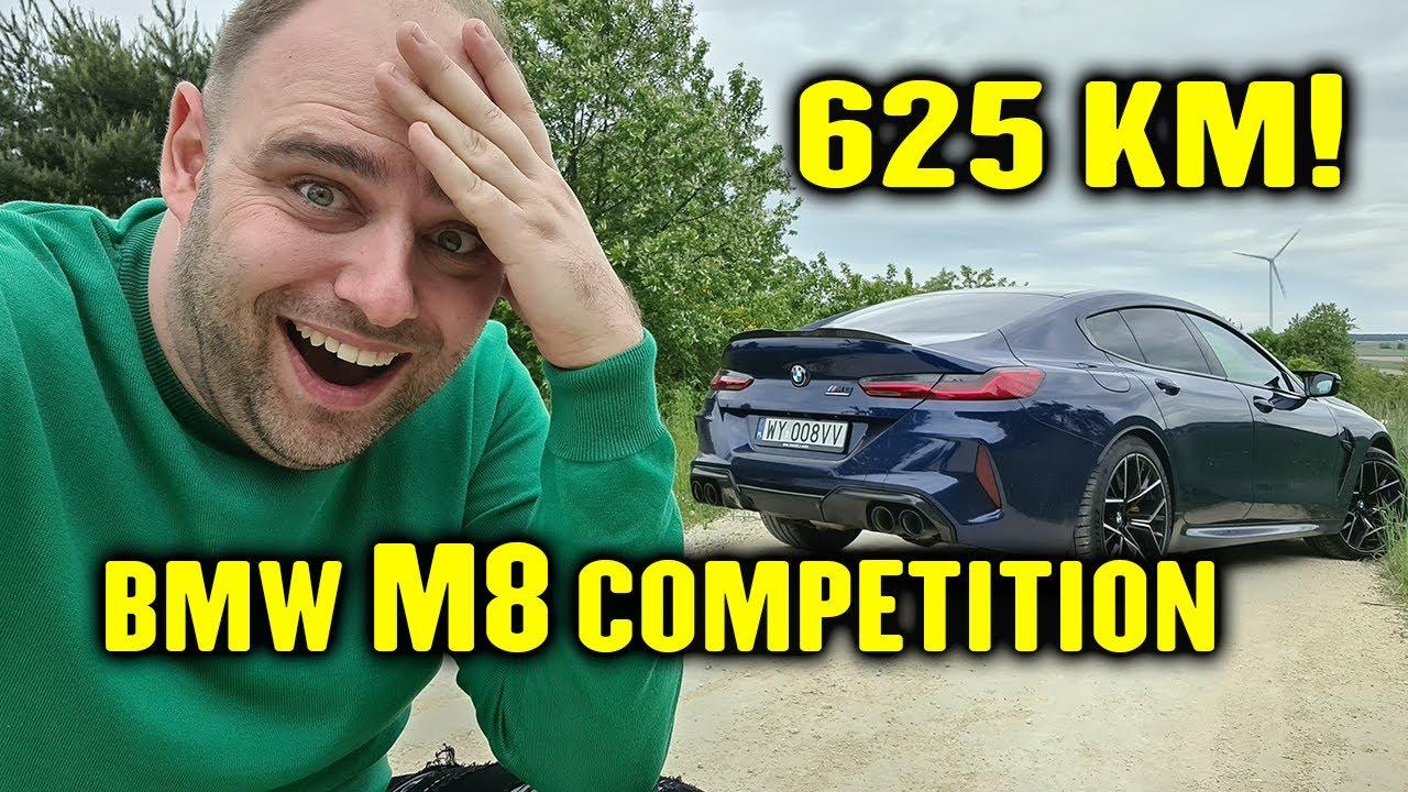 625 KM w rodzinnej limuzynie. BMW M8.