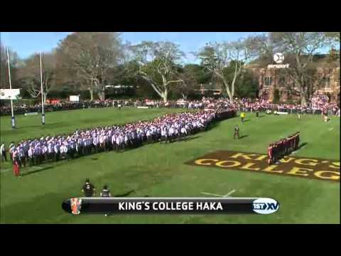 Kings College vs Auckland Grammar haka