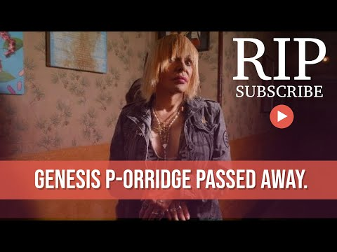 Genesis P-Orridge Dead At 70 from YouTube · Duration:  3 minutes 22 seconds