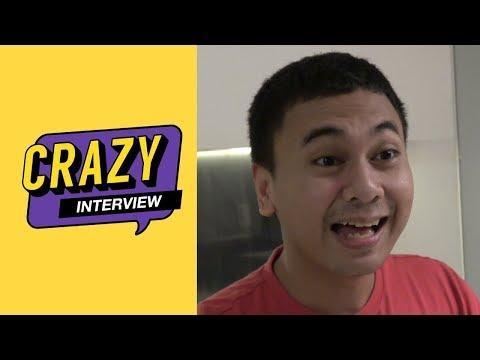 [CRAZY INTERVIEW] Eps 4 - Raditya Dika