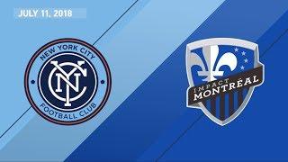 HIGHLIGHTS: New York City FC vs. Montreal Impact | July 11, 2018