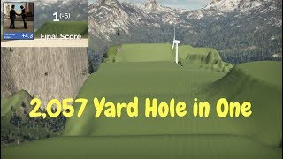 2057 Yard Hole in One - The Golf Club 2 (PC) Crazy Ace Gameplay 1 Hole. 1 Putt.