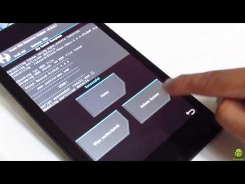 Como regresar a Android 4.4.4 Kitkat desde Android 5.0 Lollipop