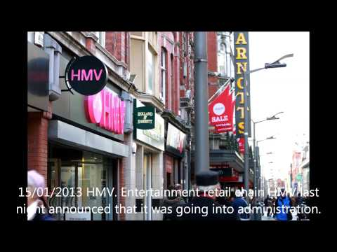 Concern expressed for Irish charity money raised through HMV