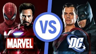 MARVEL или DC - какие фильмы лучше?