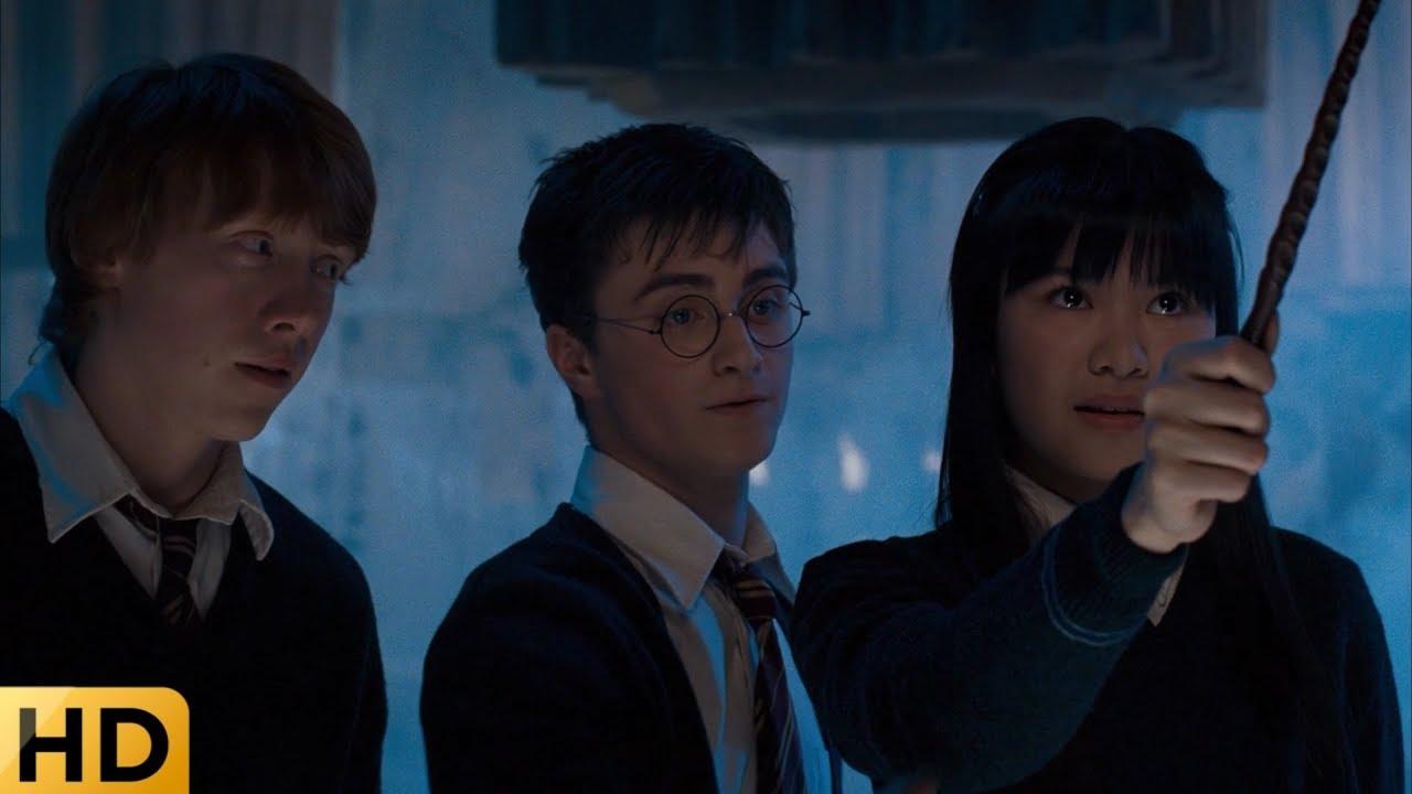 Ученики занимаются в Выручай-комнате. Гарри Поттер и Орден ...