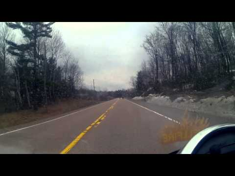 Motorcycle Ride Down Highways 511 From Calabogie to Ottawa