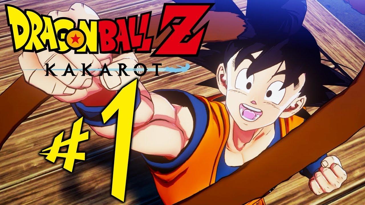 Dragon Ball Z Kakarot - Parte 1: Son Goku!!! [ PC - Playthrough ]