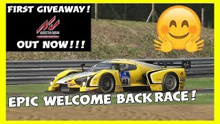 Assetto Corsa Ultimate Edition | EPIC WELCOME BACK RACE!