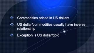 Forex trading - gold and the US dollar explained