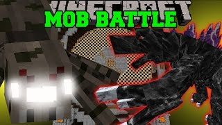 Minecraft: SPIDERZILLA VS MOBZILLA - Minecraft Mob Battles - Minecraft Mods