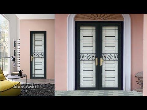 10 Contoh Pilihan Pintu Teralis Besi Minimalis Dan Klasik Youtube
