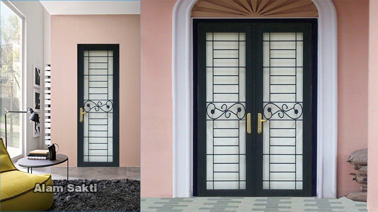 10 Contoh Pilihan Pintu Teralis Besi Minimalis dan Klasik ...