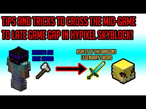 Hypixel Skyblock Guide: Mid Game Is EASY With These Tips!